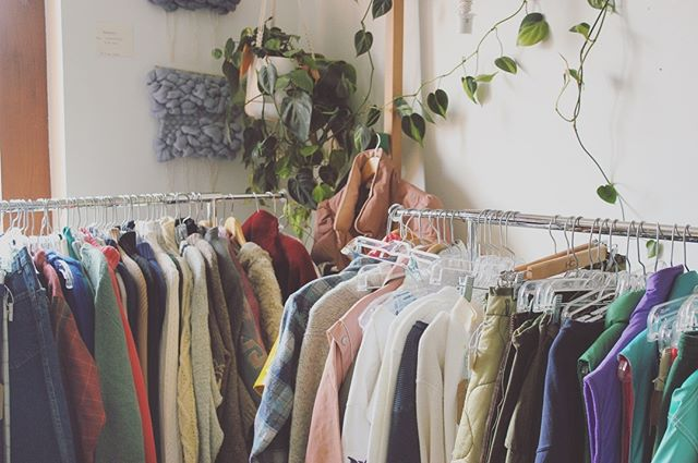 Stocked full of vintage threads, come on down and take a look!