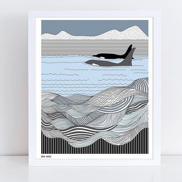 🐳 prints by available in a variety of sizes!