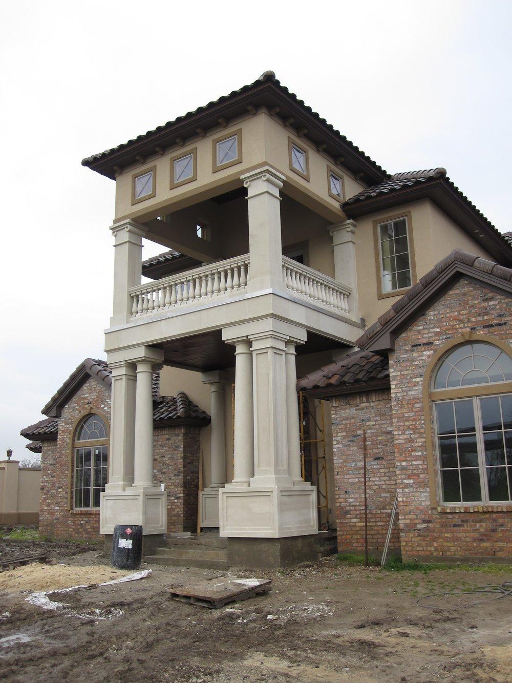 Cast Stone Tuscan Column C-009