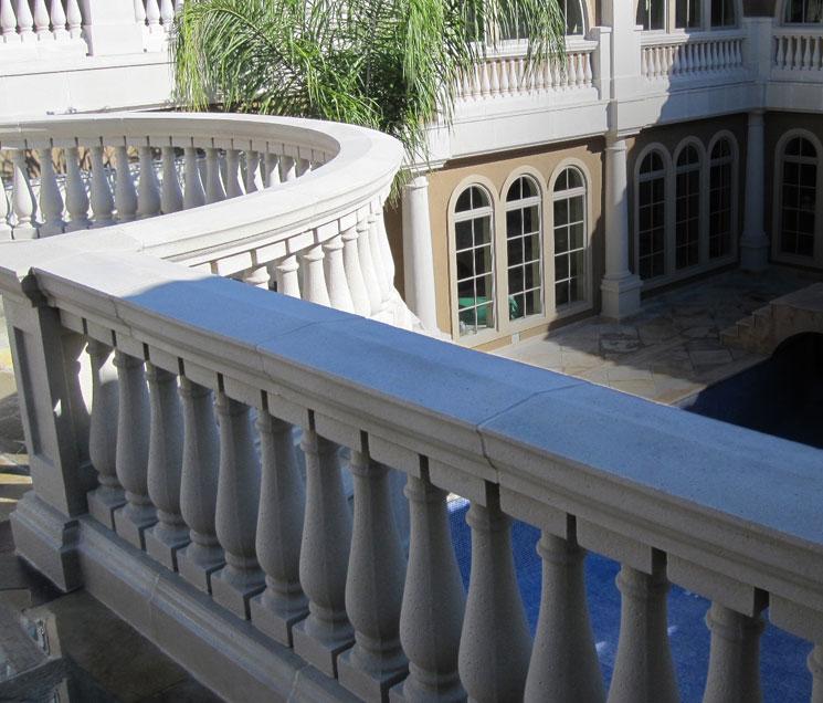 Cast Stone Balustrades-Balcony B-004