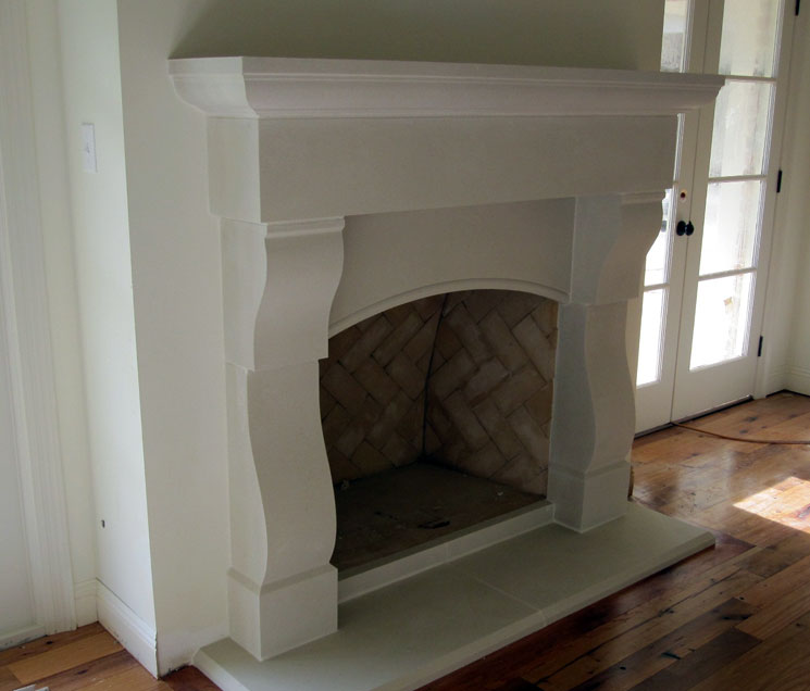 Cast Stone Fireplace-Acadian 003