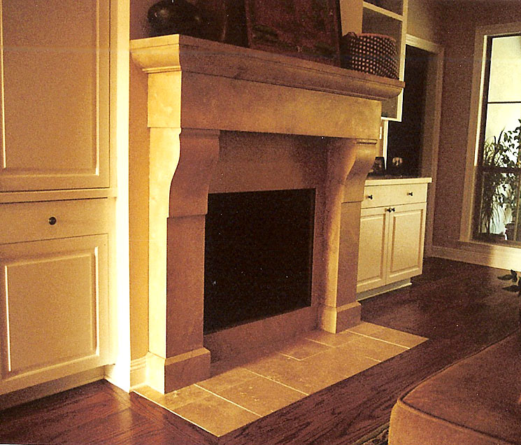 Cast Stone Fireplace-Tasso-004