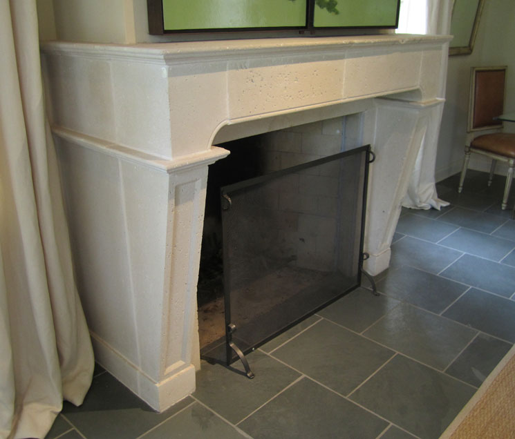 Cast Stone Fireplace-Parish-006
