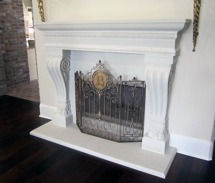 Cast Stone Fireplace-Jackson-009