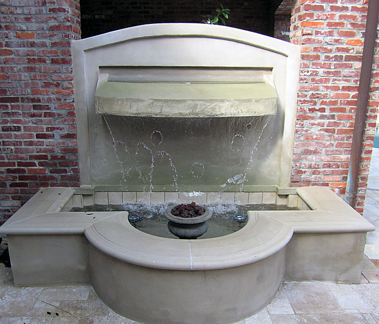 Cast Stone Fountain-Rene 06