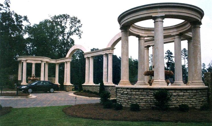 Precast Subdivision Entrance-Jackson, MS E-002