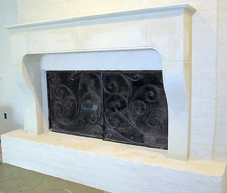 Cast Stone Fireplace-Jazz-002