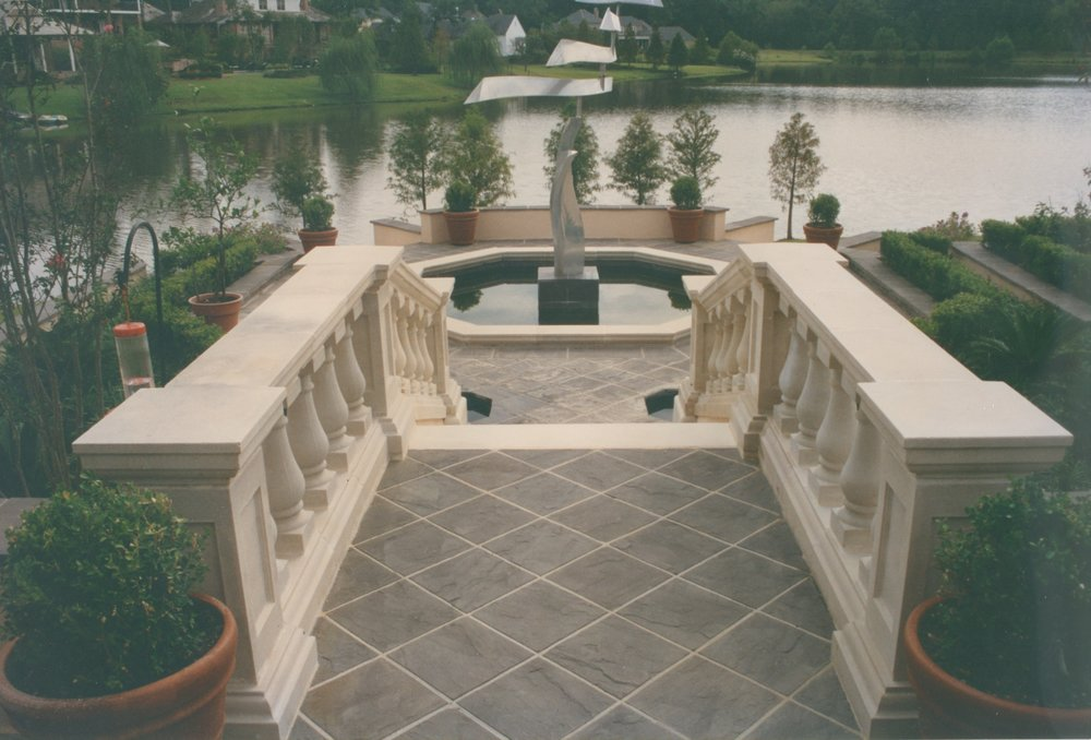 Cast Stone Balustrades-Lakeside B-012