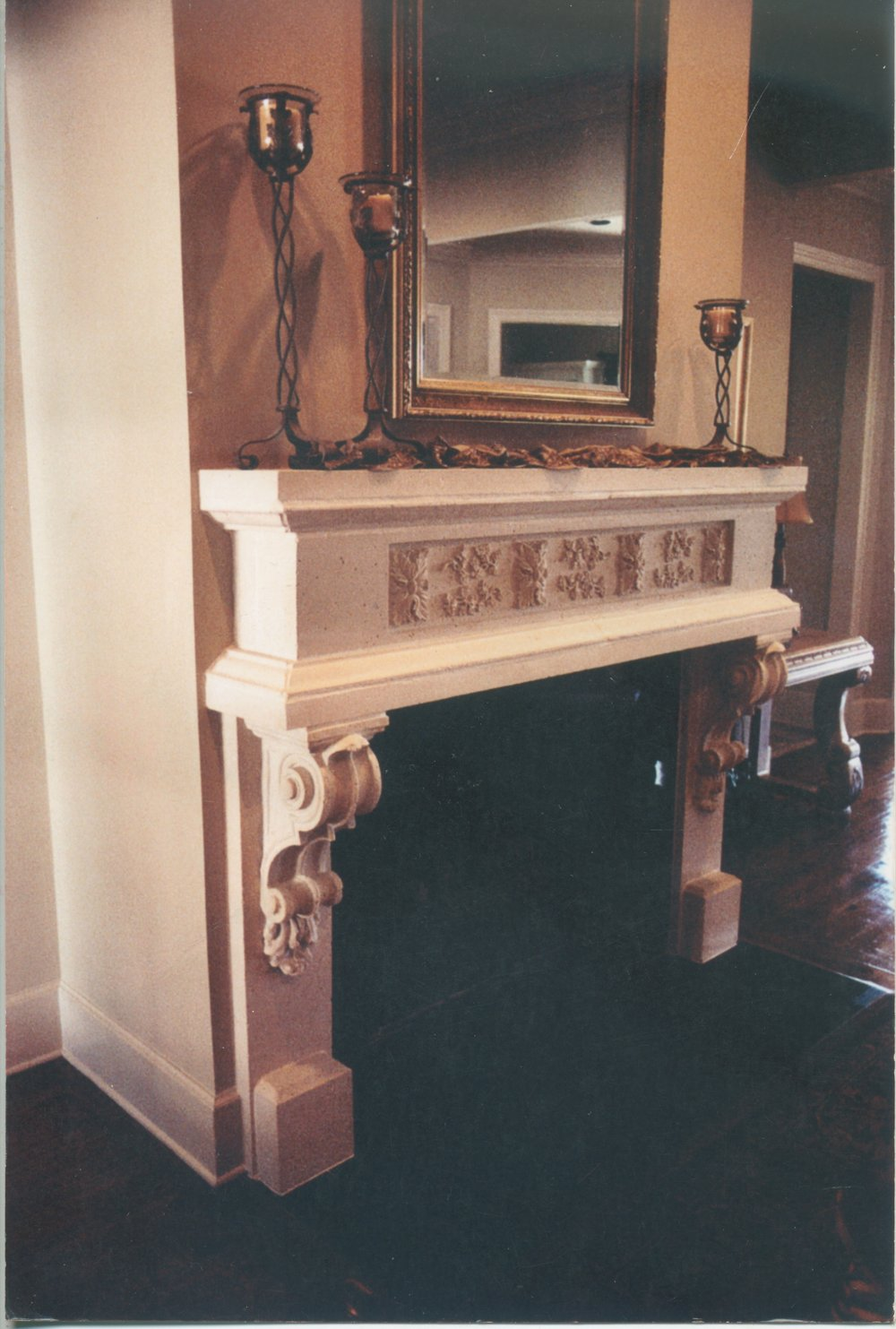 Cast Stone Fireplace-Zydeco-0024