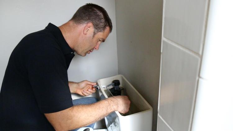 Toilet Plumbing -