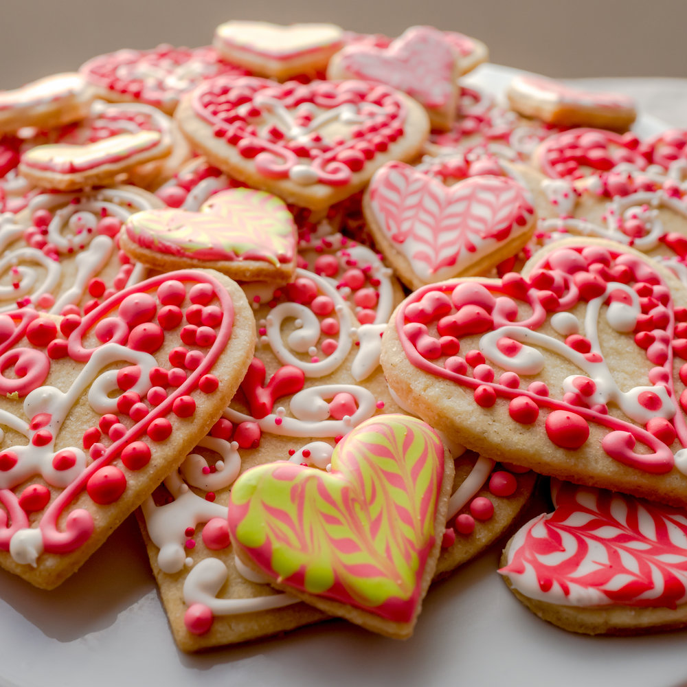 iced seasonal cookies