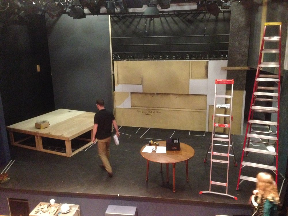 Set build - Day 2 - December 17, 2013