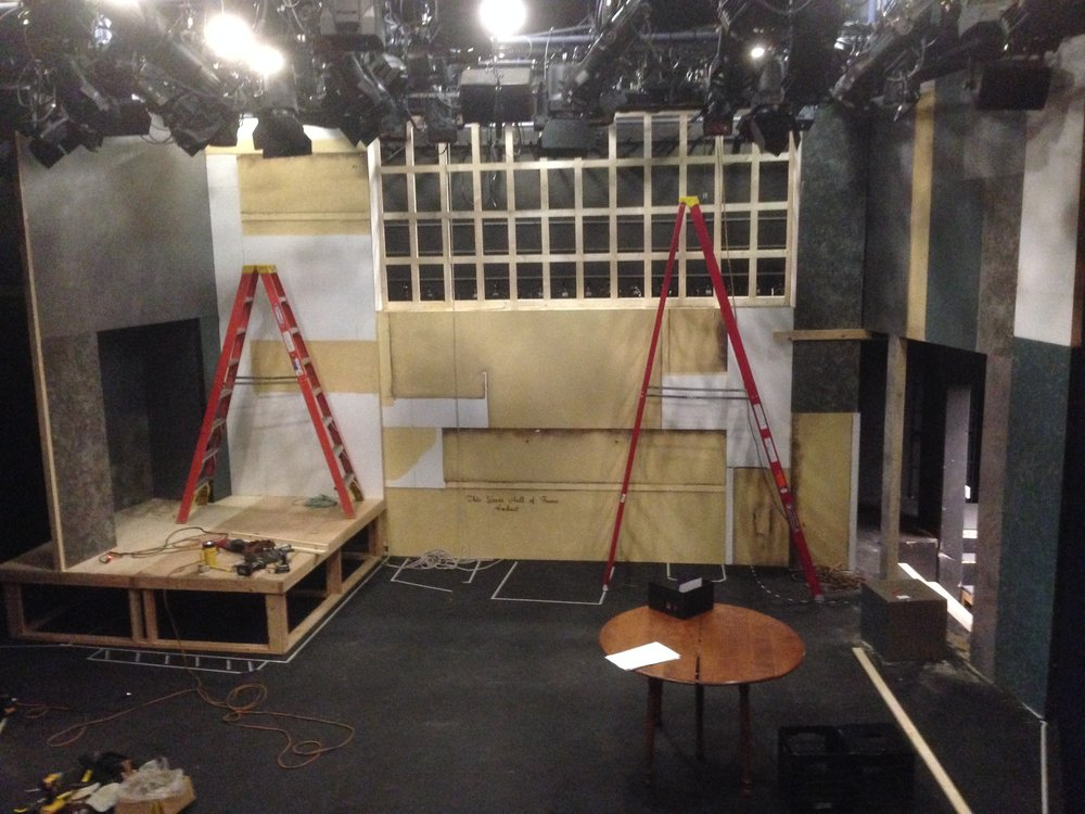 Set build - Day 4 - December 19, 2013