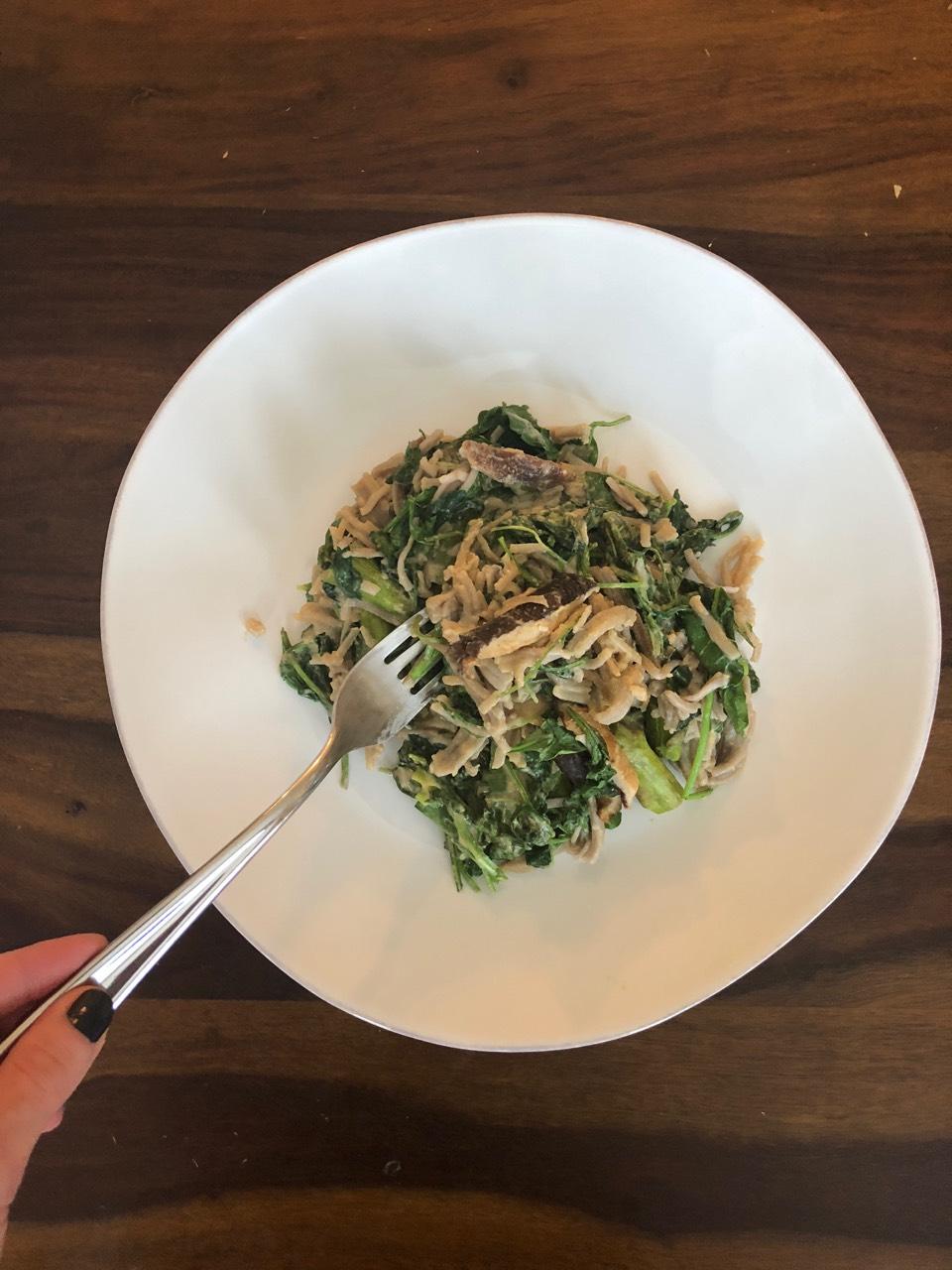 Buckwheat Noodle Bibimbap