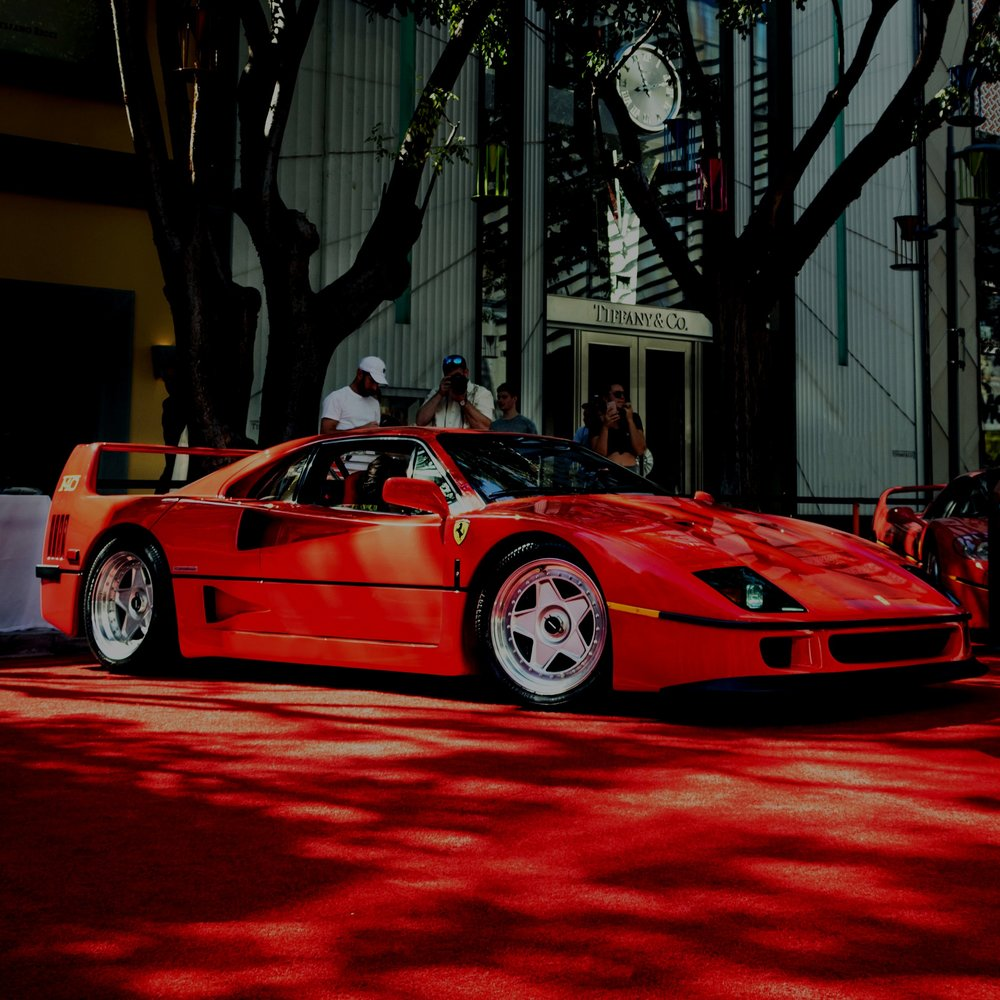 CollectableFerrari F40 - Finance for the purchase of a 1990 (28 year old) collectable Ferrari F40 after a normal finance broker was unable to achieve an approval for Asset Finance.Purchase Price $2.5m