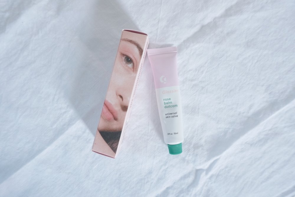 Glossier Rose Balm Dotcoms Review