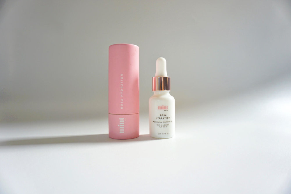 Mint Skin Rosa Hydration Oil Review Gleambase Gleam Base review