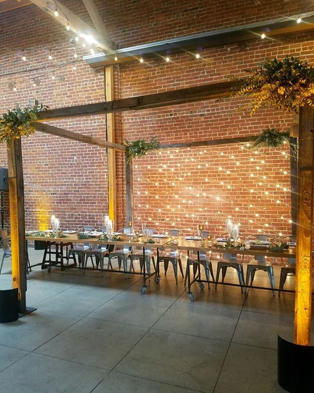 A blank canvas where the creativity is limitless. #gathering #brickandmortareventspace #eventspace #parties
