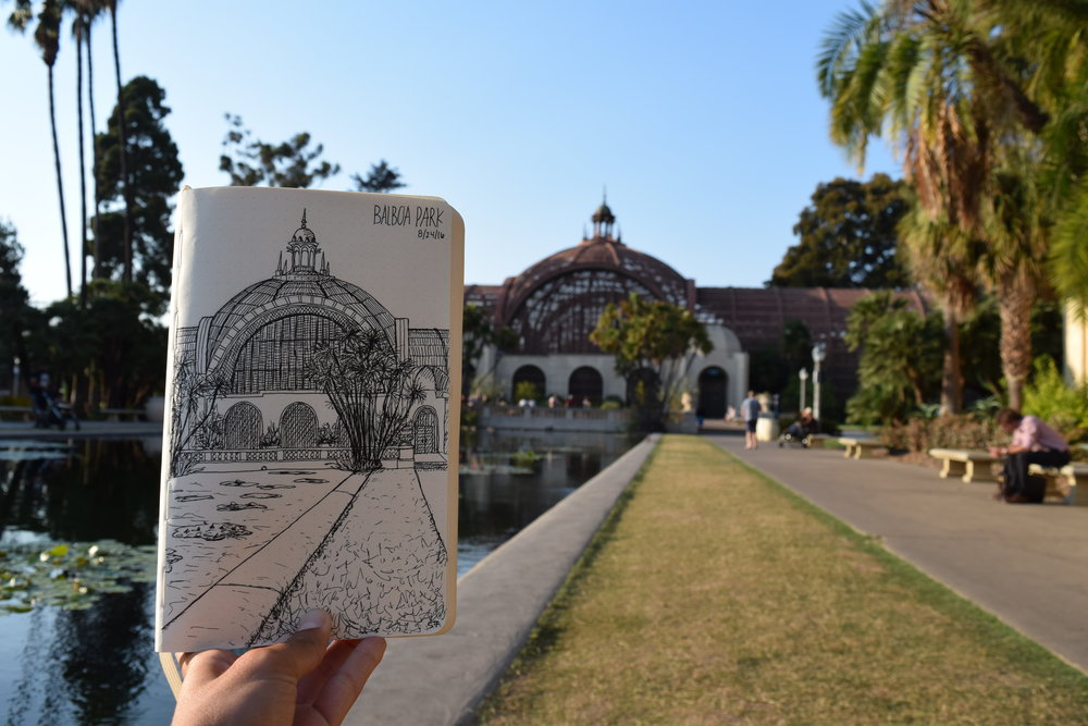 Balboa Botanical Garden - San Diego