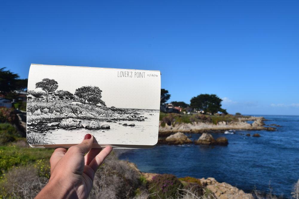 Lover's Point - Monterey Bay
