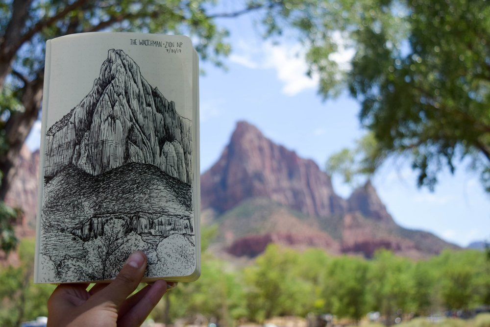 The Watchman - Zion NP