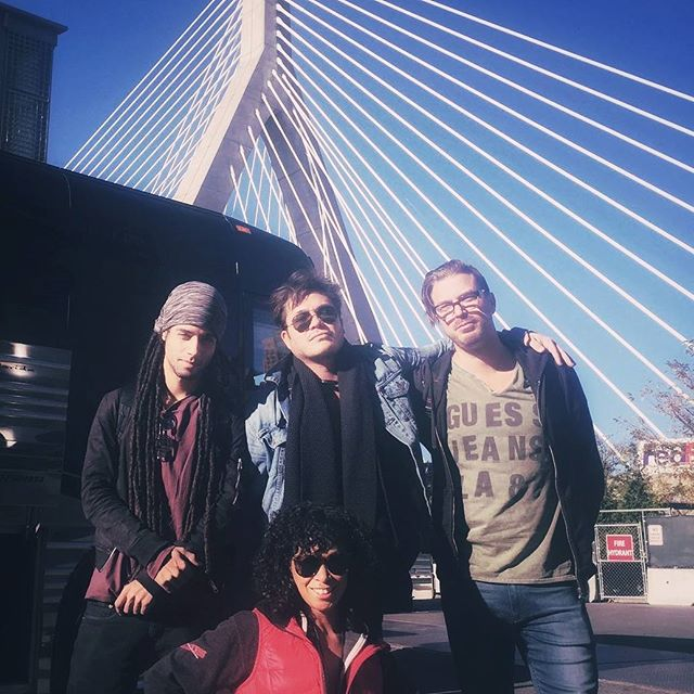 We woke up in Boston today.  Love this city.  Big show tonight and Philly tomorrow 🚍🎵
