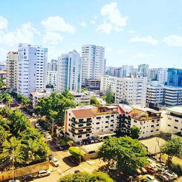 Such a beautiful day in Santo Domingo 😍