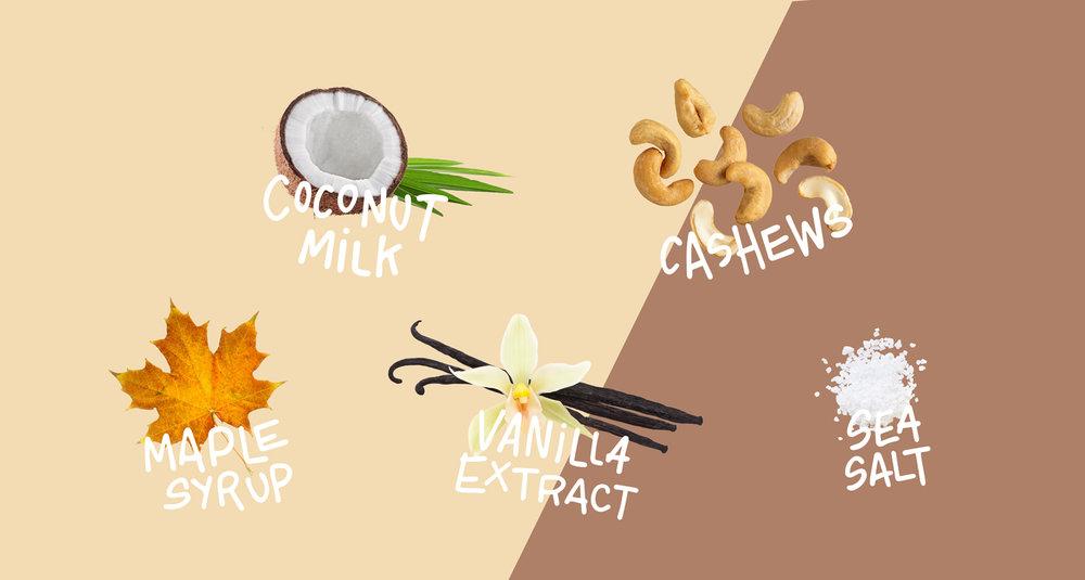 Coconut Vanilla Izza Pops
