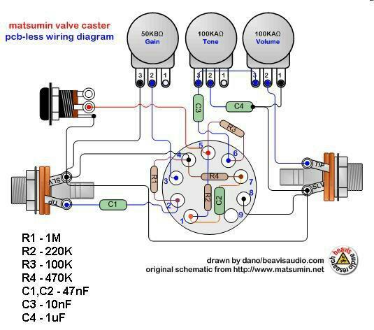 12ax7 heater wiring diagram list of wiring diagrams Water Heater Wiring Diagram
