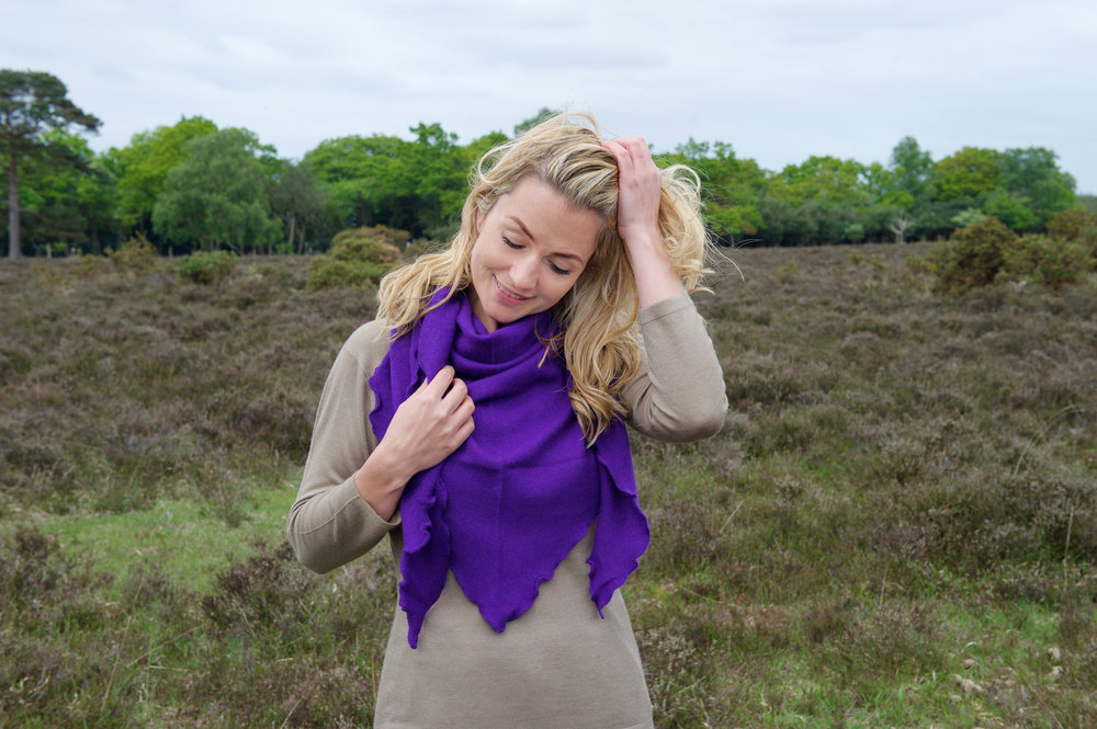 Wear as a scarf for a extra layer of warmth or as a shawl to keep out the evening chill. Either way a must have wardrobe essential.