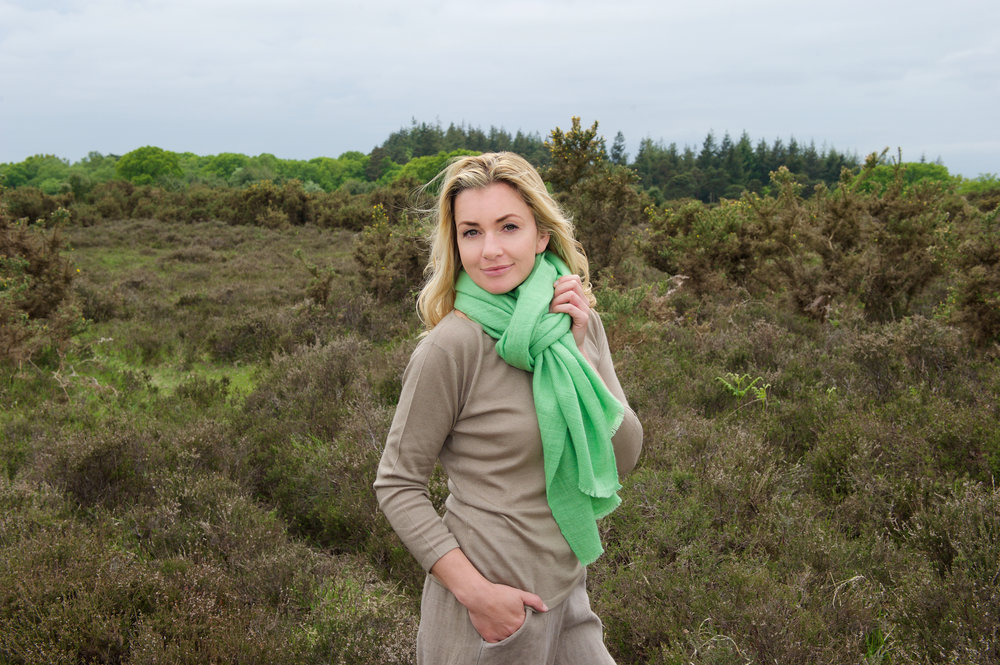 Stand out from the crowd. A neutral outfit can be lifted to another level by adding colour.  These heavy weight, hand loomed and hand dyed stoles are just the thing. The rugged weave makes them tactile and super warm. Made from high quality 100% cashmere, nothing compares.