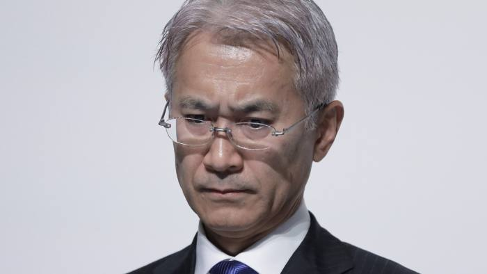 Kenichiro Yoshida, chief executive, says Sony could do more to utilise its own data trove, such as the 80m monthly users on its PlayStation Network © Bloomberg