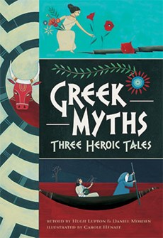 Greek Myths - This won't be out until September. It's a great version of three classic tales.