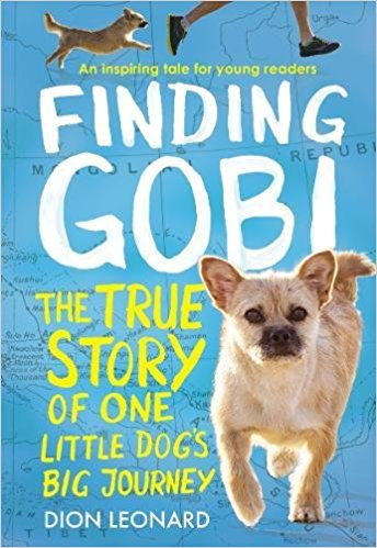 A dog from China - Runs through the Gobi desert. This one won't be out until the end of August. I snagged a copy at ALA and loved it.
