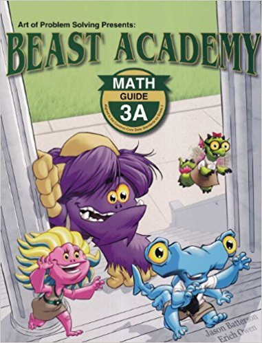 I am intrigued with Beast Academy so I got the level three books that we can work through during the time I set aside for logic.
