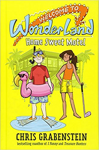 Welcome to Wonderland #1: Home Sweet Motel : Eleven-year-old P.T. Wilkie narrates this series starter. He lives at the Wonderland Motel in St. Pete's Beach, FL. His grandfather, Walt, founded the hotel in 1970 and did well until another Walt opened Disney World a year later. The Wilkies have been struggling to remain open ever since. P.T. always looks on the bright side.