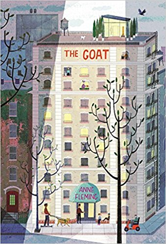 You all know I have a soft spot for city books. Could there be a goat at the top of this building?