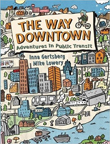 The Way Downtown - A picture book dedicated to showing a whole bunch of public transportation scenarios. I could see this being useful for kids moving into an urban area, children who already live there and maybe kids going to a city on vacation.The Zanies are a family of street performers who take public transportation downtown where they perform on the didgeridoo and juggle! Dr. Brody takes a ferry in to go to work each day, and there are other scenarios as well including a spy! I loved the maps, the explanations of the sights and sounds as I can see that being particularly useful to kids with sensory issues. Forewarned is forearmed. It even says what to do if someone gets lost. The pictures are both helpful and hilarious- we thoroughly enjoyed this one.We chuckled at the description of the smell on the subway: