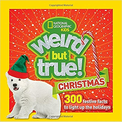 """Even Christmas can be weird -- it's true! Get ready to celebrate the holiday season with wacky facts, stats, tidbits, and traditions about the most wonderful time of the year. Did you know that Santa's reindeer are probably all female? Or that artificial snow can be made from seaweed? Or that """"Jingle Bells"""" was the first Christmas carol sung in space? Every kid will ho ho ho when they unwrap this fun and festive little gift book, perfect for stocking stuffers or under the tree."""