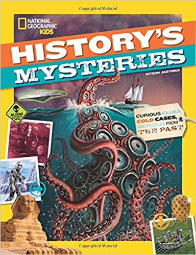 Why were the Easter Island heads erected? What really happened to the Maya? Who stole the Irish Crown Jewels? The first book in this exciting new series will cover history's heavy-hitting, head-scratching mysteries, including the Lost Colony of Roanoke, the Bermuda Triangle, the Oak Island Money Pit, Stonehenge, the Sphinx, the disappearance of entire civilizations, the dancing plague, the Voynich manuscript, and so many more. Chock-full of cool photos, fun facts, and spine-tingling mysteries.
