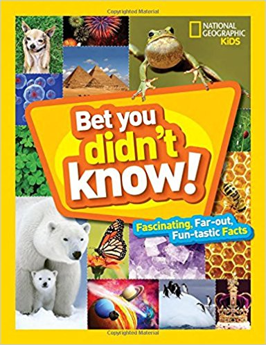 Did you know that the first stop signs were black and white? Or that a litter of kittens is called a kindle? There's a lot to know and we bet you'll have fun learning these fun, far-out facts in the next super series from National Geographic Kids!