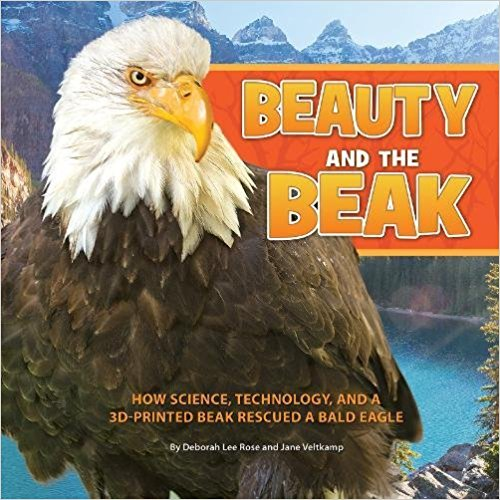 3D printing - that made a new beak for an Eagle? How cool is that?