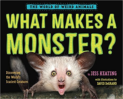 Animal loving kids will go nuts for this one - The second book in the World of Weird Animals series is the stuff nightmares are made of!
