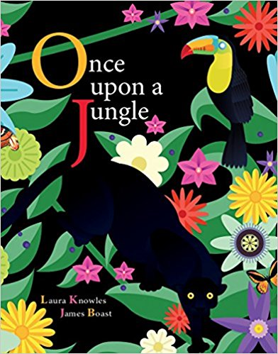 "This picture book uses - ""once upon a time"" to set in motion the food cycle in a rainforest."
