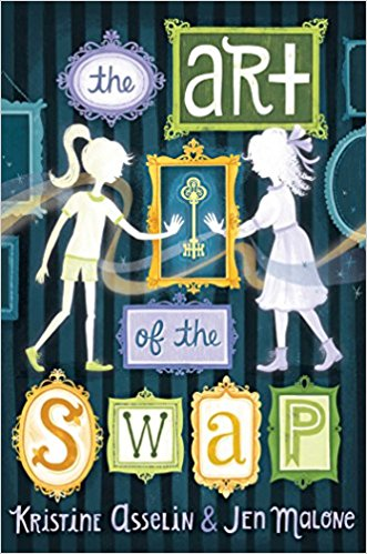Time Travel FTW - I'm reading this right now and am loving it.Two girls living in the same mansion in different eras switch places.I'll have a full review on February 13 for this books birthday.
