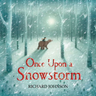 A Snowy - Adventure starts in a cabin and continues into the woods in this wordless picture book.