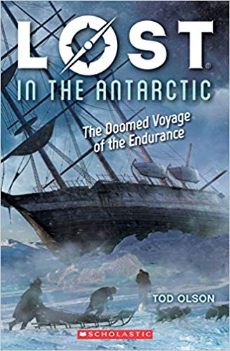 Yikes. -  I'll admit that going into this book I had a couple of concerns:Didn't Shackleton die on one of these voyages? Was this the one?70 dogs on board? I'm feeling worried for them.1 cat? That doesn't sound good, it is too cold for cats.I think my knowledge of historical explorations needs expanding.This is my favorite type of nonfiction book as it reads like a novel and since I woefully lack in historical knowledge on this front, it proved to be a page turner for me. I was only going to start it before bed and ended up staying up late to read the entire book.As it turns out, this was his third expedition, and the Endurance ends up getting locked up in the ice. The men have to abandon ship and go a pretty long way on the ice before being able to get their lifeboats into open water. It had me on the edge of my seat.Goodreads tells me that there are two other books in this series and I'll be adding them to our TBR lists here at home.Overall a thumbs up, lots of detail where there should be and the sad kind of parts are treated as the matter of fact survival situation that these men were in.