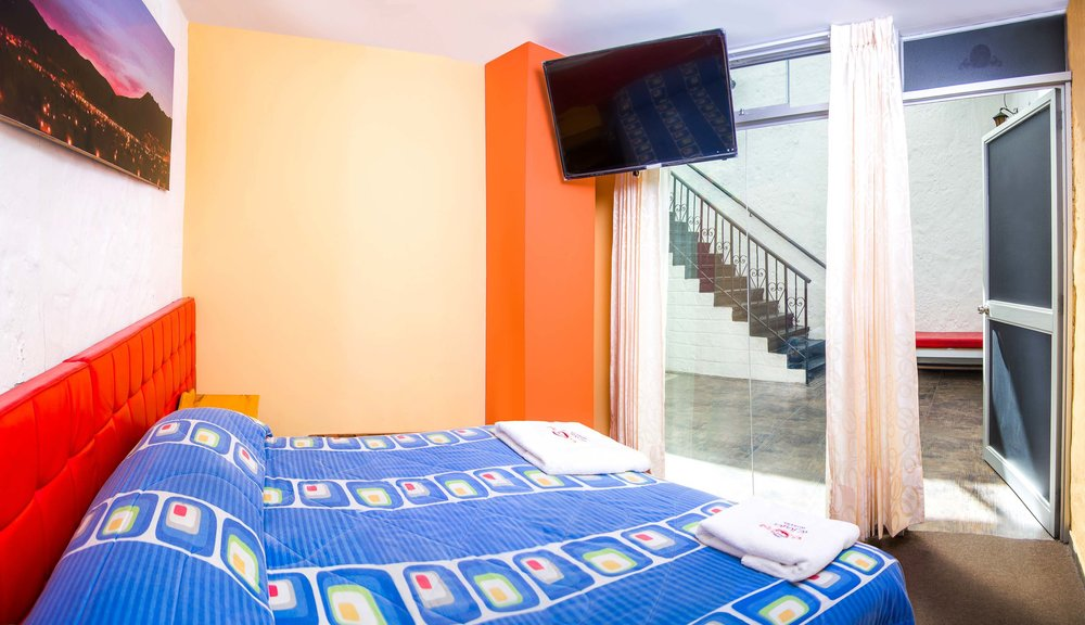 Double room   at Le Foyer Hostel   Book with Us