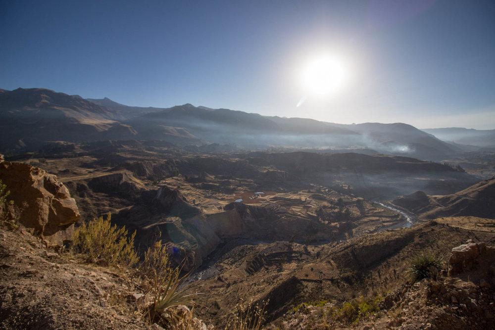 Tour Convencional  al Cañón del Colca en Arequipa