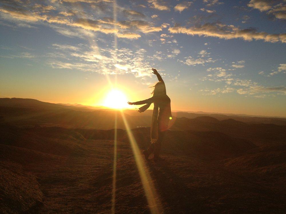2013 African sunrise